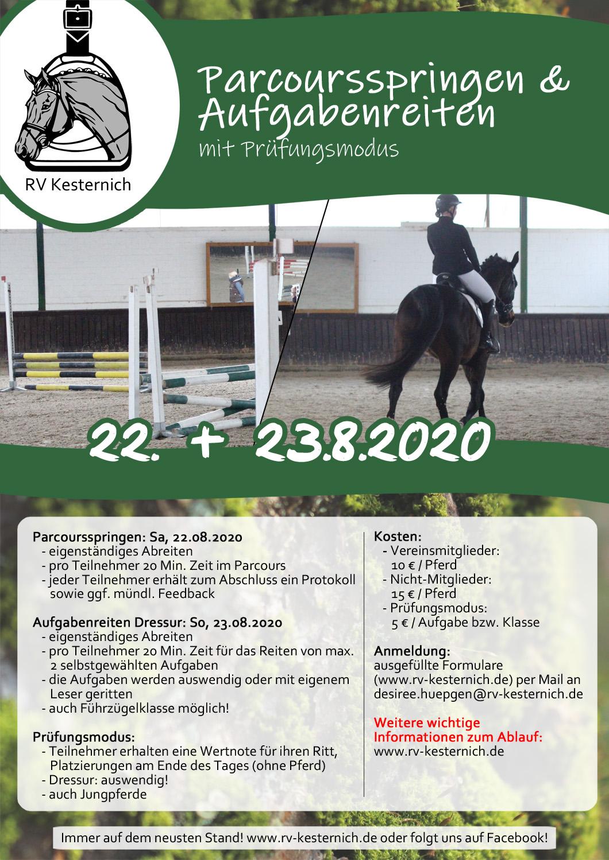Aufgabenreiten_Parcoursspringen2020